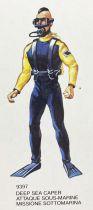 Big Jim - Série Commando - Tenue Attaque Sous-Marine Force Condor (ref.9397)