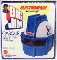 Big Jim - Série Espace - Casque Electronique avec messages (ref.579)