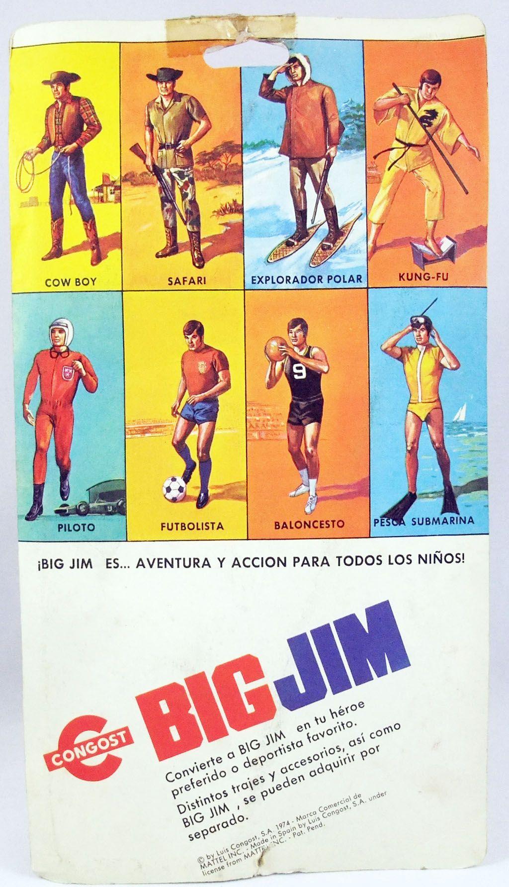 Big Jim - Série Sport - Tenue de Plongée en apnée (ref.8855) Congost