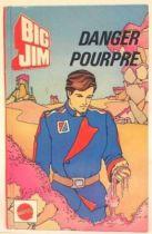 Big Jim - Story book - Danger Pourpre