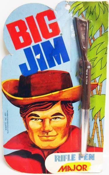 Big Jim - Stylo Carabine - Major