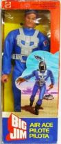 Big Jim Commando series - Mint in box Air Ace Big Jim (ref.2242)