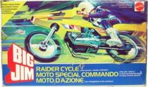 Big Jim Commando series - Mint in box Raider Cycle (ref.9585)