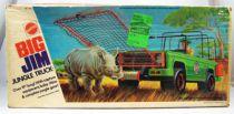 Big Jim Série Aventure - Chasse au Rhino avec Jeep de la Jungle (ref.7319)
