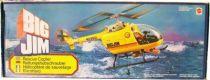 Big Jim Série Aventure - Hélicoptère de sauvetage (occasion en boite) (ref.9901)