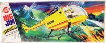 Big Jim Série Aventure - Hélicoptère de sauvetage (ref.9901) occasion en boite Congost