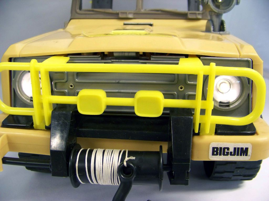Big Jim Série Aventure - Jeep Safari / Safari Truck (ref.2268) occasion en boite