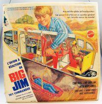 Big Jim Série Aventure - L\'Avion à réaction de Big Jim neuf en boite (ref.7323)