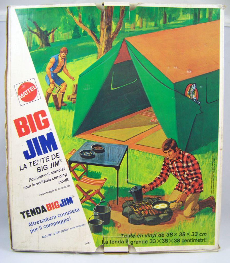 Big Jim Série Aventure - La Tente de Big Jim (ref.8873) occasion en boite