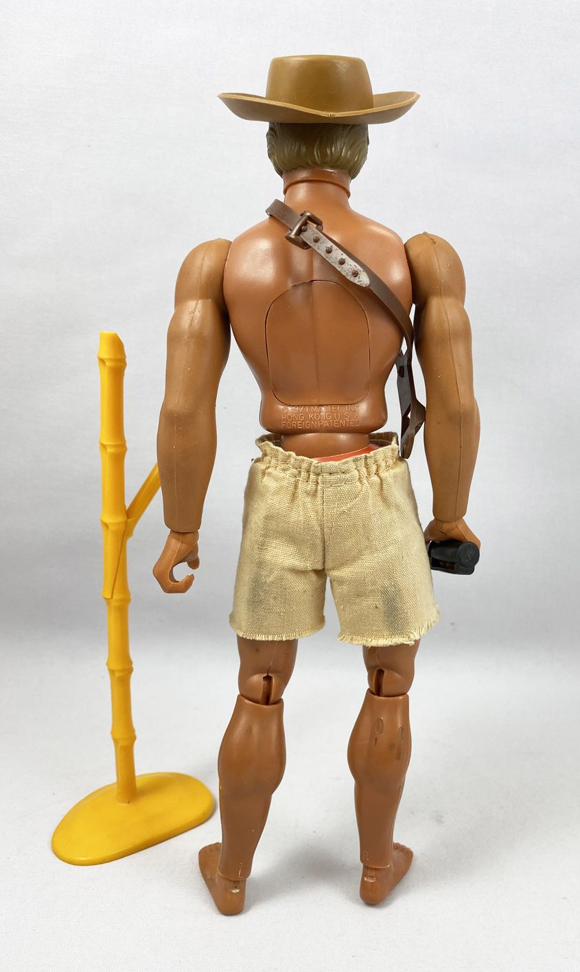 Big Jim Série Aventure - Mattel - Big Jeff (ref.9934)