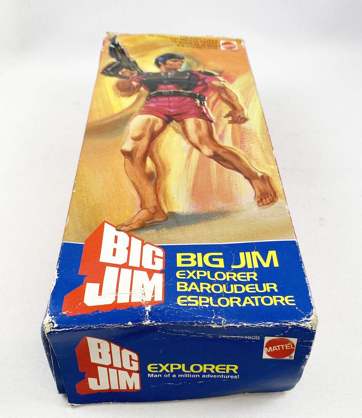 Big Jim Série Commando - Mattel - Big Jim Baroudeur (ref.1029) occasion en boite