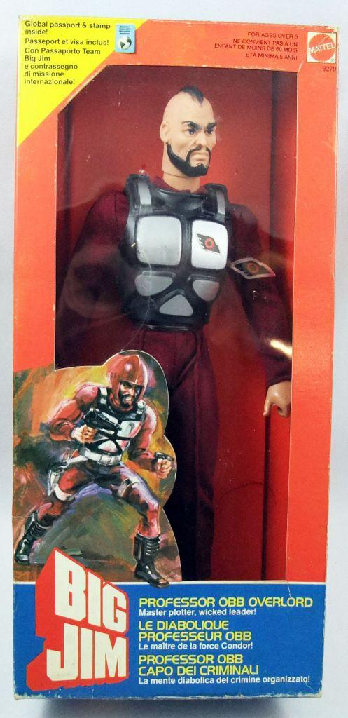 Big Jim Série Commando - Professeur Obb Overlord neuf en boite (ref.9270)