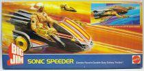 Big Jim Série Commando - Sonic Speeder / Superscooter neuf en boite (ref.2349)