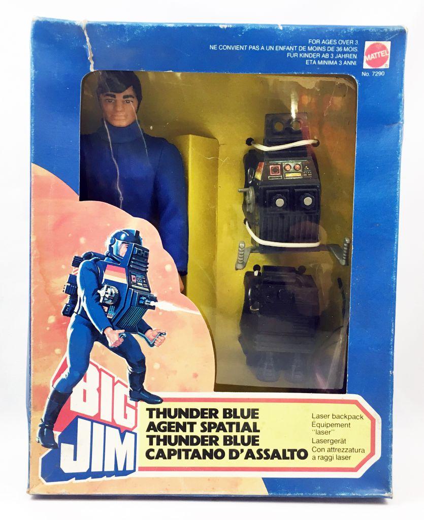 Big Jim Série Espace - Big Jim ThunderBlue Agent Spatial neuf boite (ref.7290)