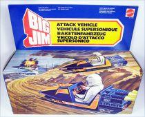 Big Jim Série Espionnage - Attack Vehicle / Véhicule Supersonique neuf en boite (ref.7642)