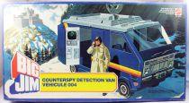 Big Jim Série Espionnage - Counterspy Detection Van / Véhicule 004 neuf en boite (ref.5259)