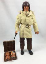 """Big Jim Série Espionnage - Mattel - Big Jim Super Agent Secret (ref.0623) \""""version 4 masques\"""""""