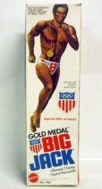 Big Jim Série Sport - Big Jack (Médaille d\'Or Olympique) neuf en boite (ref.7364)