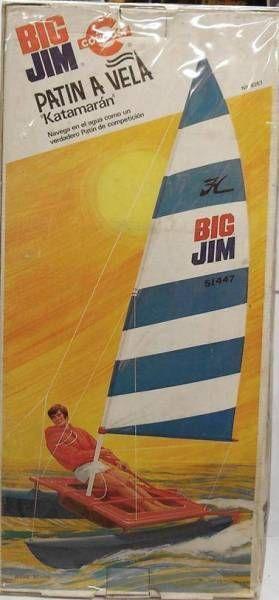 Big Jim Sport series - Mint in Gongost box Sunrunner Catamaran (ref.9267)