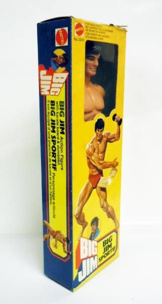 Big Jim Sports series - Mint in box Sportsman Big Jim (ref.3241)
