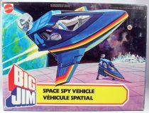 Big Jim Spy series - Mint in box Space Spy Vehicle (ref.4191)