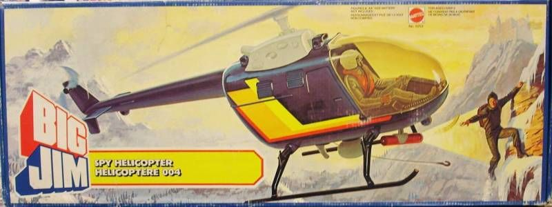 Big Jim Spy series - Mint in box Spy Copter (ref.5253)