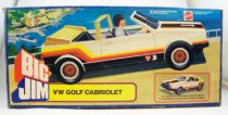 Big Jim Spy series - White VW Golf Cabriolet (ref.8299) Loose in box