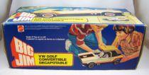 Big Jim Spy series - White VW Golf Cabriolet (ref.8299) Loose in box