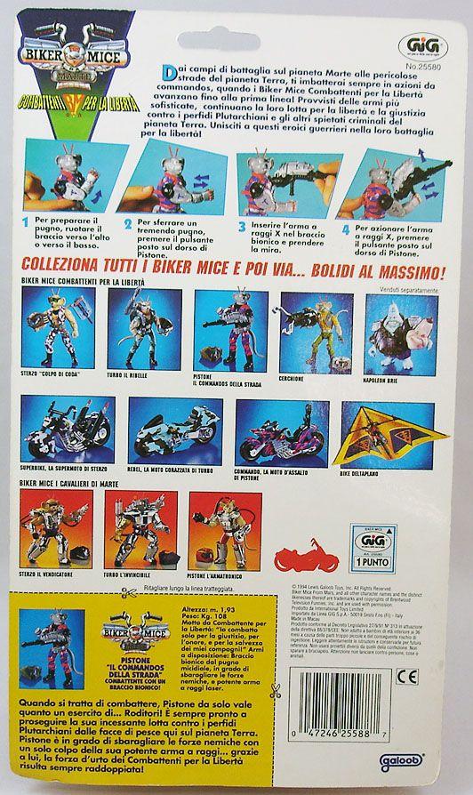 Biker Mice from Mars - Commando Modo - Galoob GIG