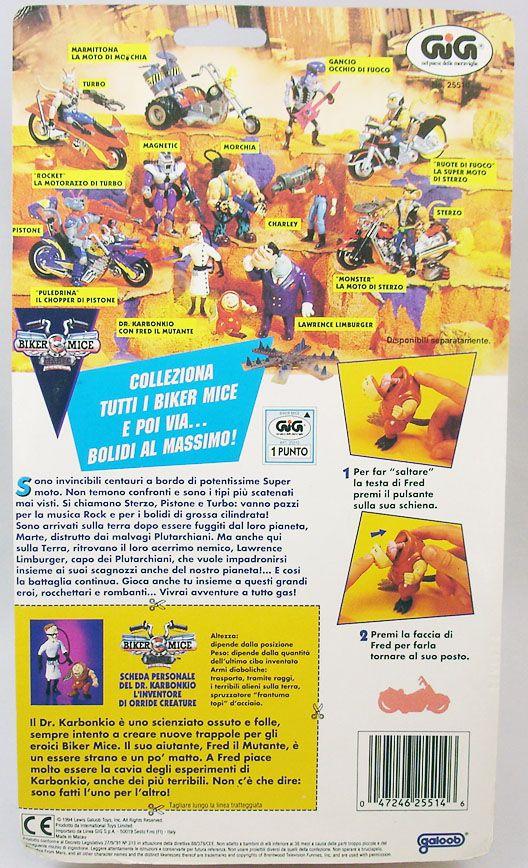 Biker Mice from Mars - Dr. Karbunkle - Galoob GIG