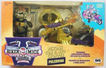 Biker Mice from Mars - Gift Set : Modo & Chromotanium Mondo Chopper - Galoob-GIG