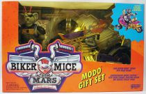Biker Mice from Mars - Gift Set : Modo & Chromotanium Mondo Chopper - Galoob