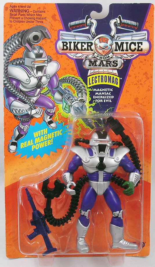Biker Mice from Mars - Lectromag - Galoob