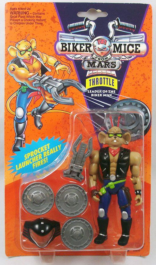 Biker Mice from Mars - Throttle - Galoob