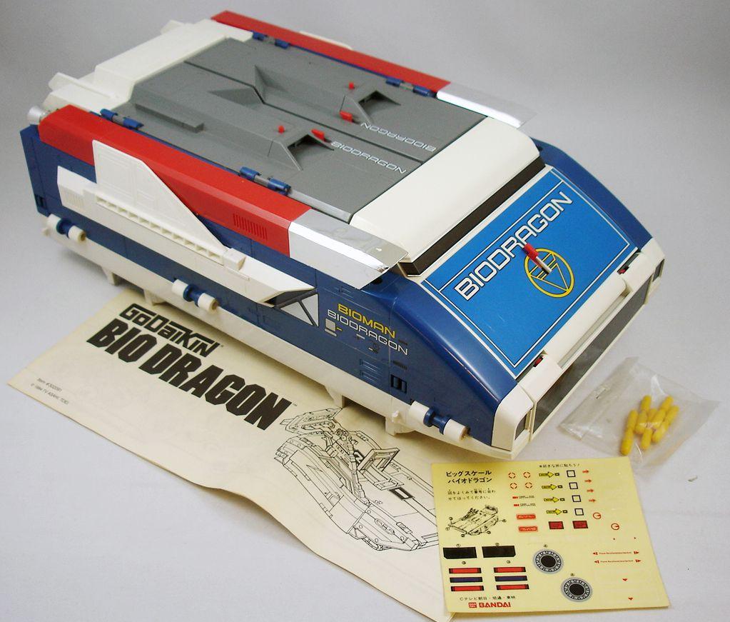 Bioman - Bio Dragon DX Transporteur (boite Godaikin)