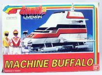 Bioman 3 Liveman - Bandai - ST Machine Buffalo