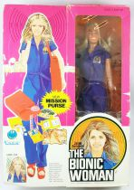 Bionic Woman - 12\'\' Doll - Jaime Sommers (Mission Purse)  - Mint in Box Kenner