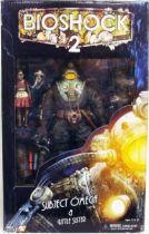 Bioshock 2 - Subject Omega & Little Sister avec Bunny Splicer Mask - NECA