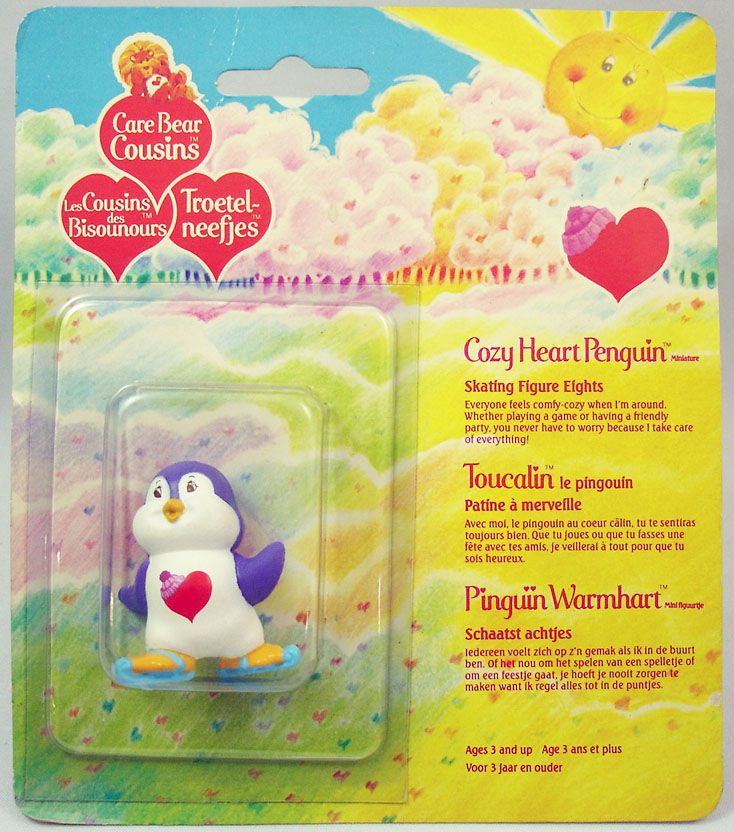 Bisounours - Kenner - Miniature - Toucalin le Pingouin patine à merveille (blister carré)