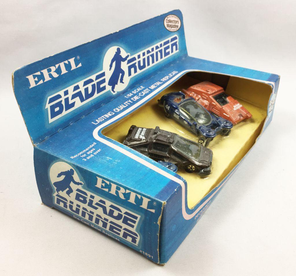 Blade Runner - Set of  ERTL 1:64 Scale Die-cast Vehicles (1982)
