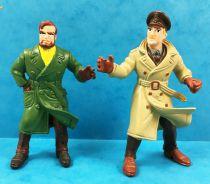 Blake & Mortimer - Comics Spain - Set of 2 PVC figures