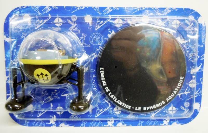 Blake & Mortimer - Hachette - L\'Enigme de l\'Atlantide : Le Sphéros Aquatique