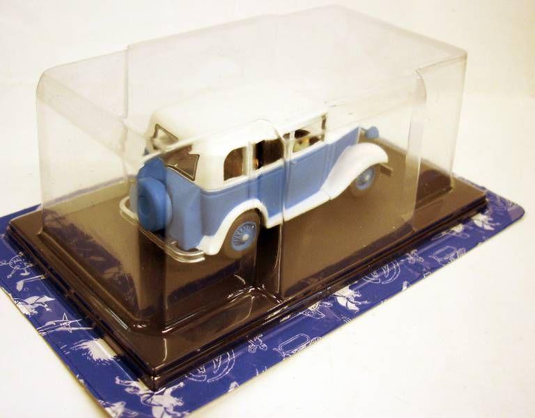 Blake & Mortimer - Hachette - Le Mystère de la Grande Pyramide : Le Taxi Ford A bleu et blanc