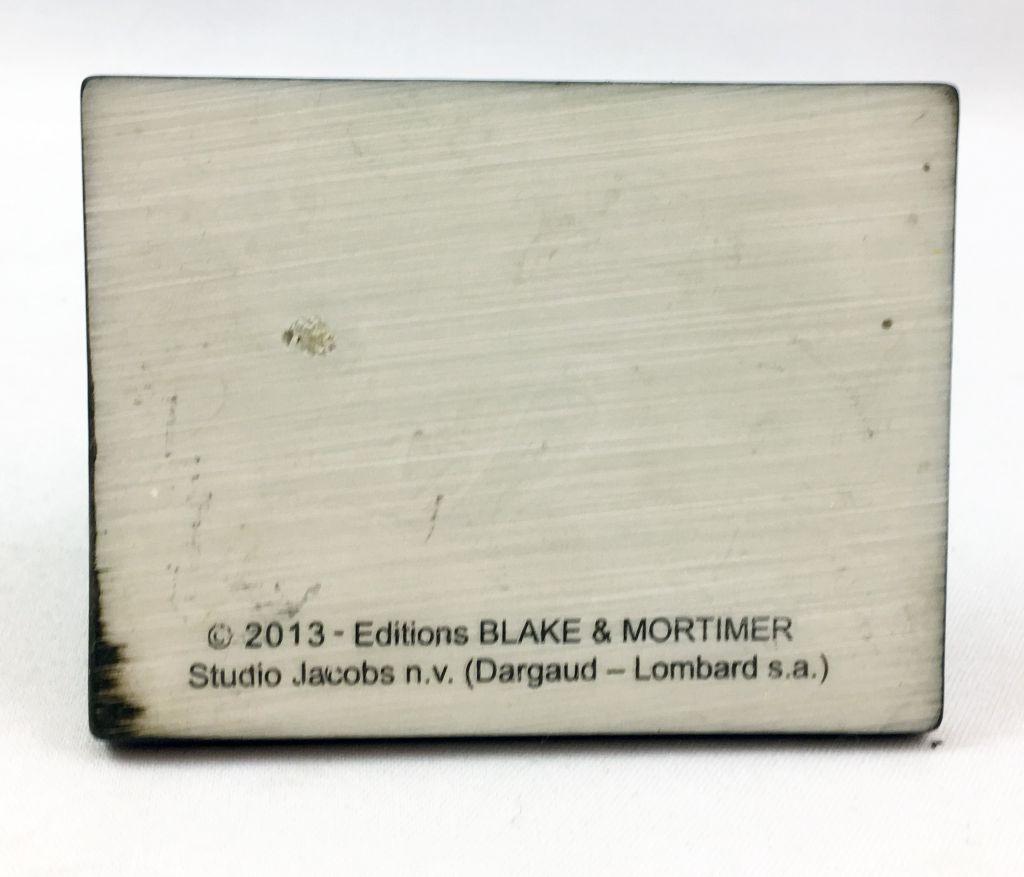 Blake & Mortimer - Hachette - Le Secret de l\'Espadon : Le Golden Rocket (Résine Club Hachette Exclusif) Variante
