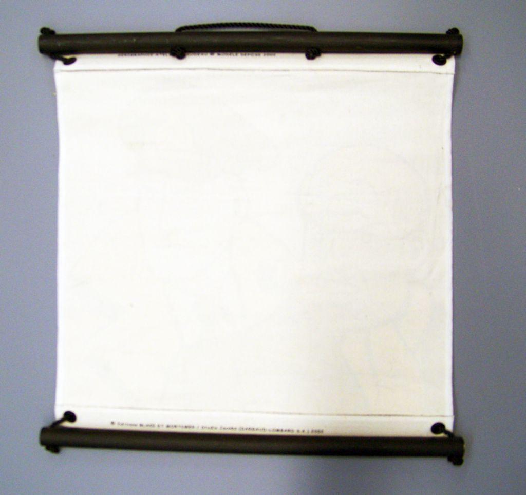 Blake & Mortimer - Kakemono Atelier Blaudeau 2002 (60x60cm)
