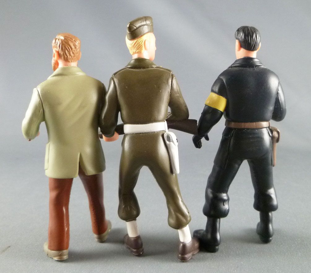 Blake & Mortimer - Plastoy - Set de 3 figurines PVC