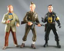 Blake & Mortimer - Plastoy - set of 3 PVC figures