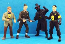 Blake & Mortimer - Plastoy - set of 4 PVC figures