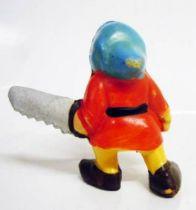 Blanche neige - Figurine Jim - Le nain Grincheux
