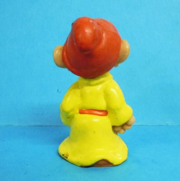 Blanche Neige - Figurine PVC Bully 1982 - le nain Simplet